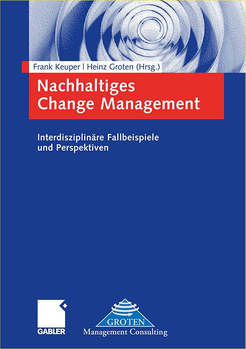 Buch Cover Keuper & Groten: Nachhaltiges Change Management